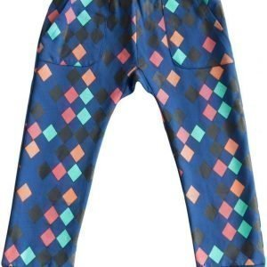 Gardner and the gang Housut Hang out pant Harlequin Blue