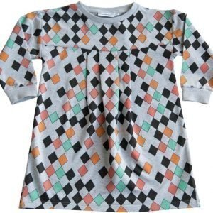 Gardner and the gang Mekko Pretty dress Harlequin Grey