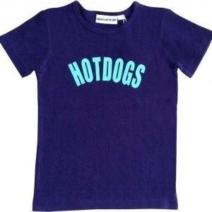 Gardner and the gang T-paita The cool tee Hotdogs Blue