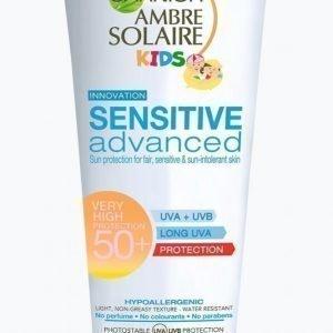 Garnier Ambre Solaire Sensitive Advanced Kids Lotion Spf 50 Aurinkovoide