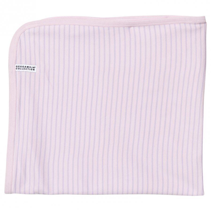 Geggamoja Baby Blanket Soft Pink/Lilac Huopa