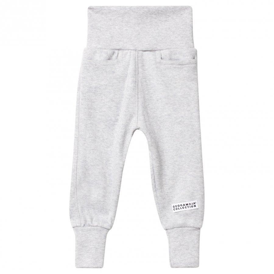 Geggamoja Baby Pants Classic Light Grey Mel Verryttelyhousut