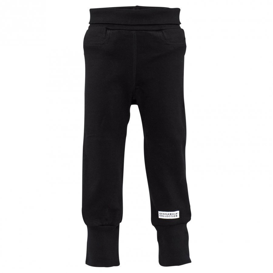 Geggamoja Baby Trousers Classic Black Housut
