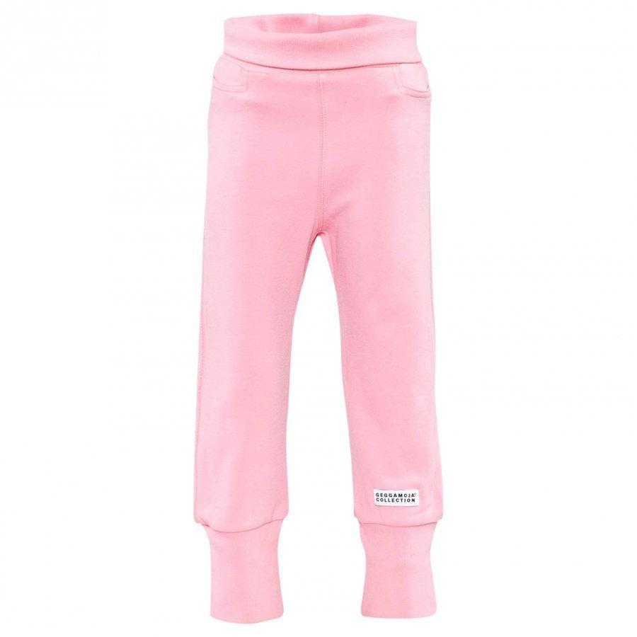 Geggamoja Baby Trousers Classic Pink Housut