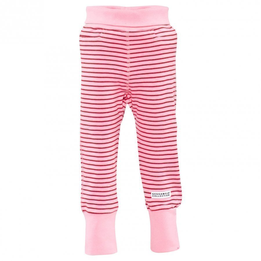 Geggamoja Baby Trousers Classic Pink/Red Housut