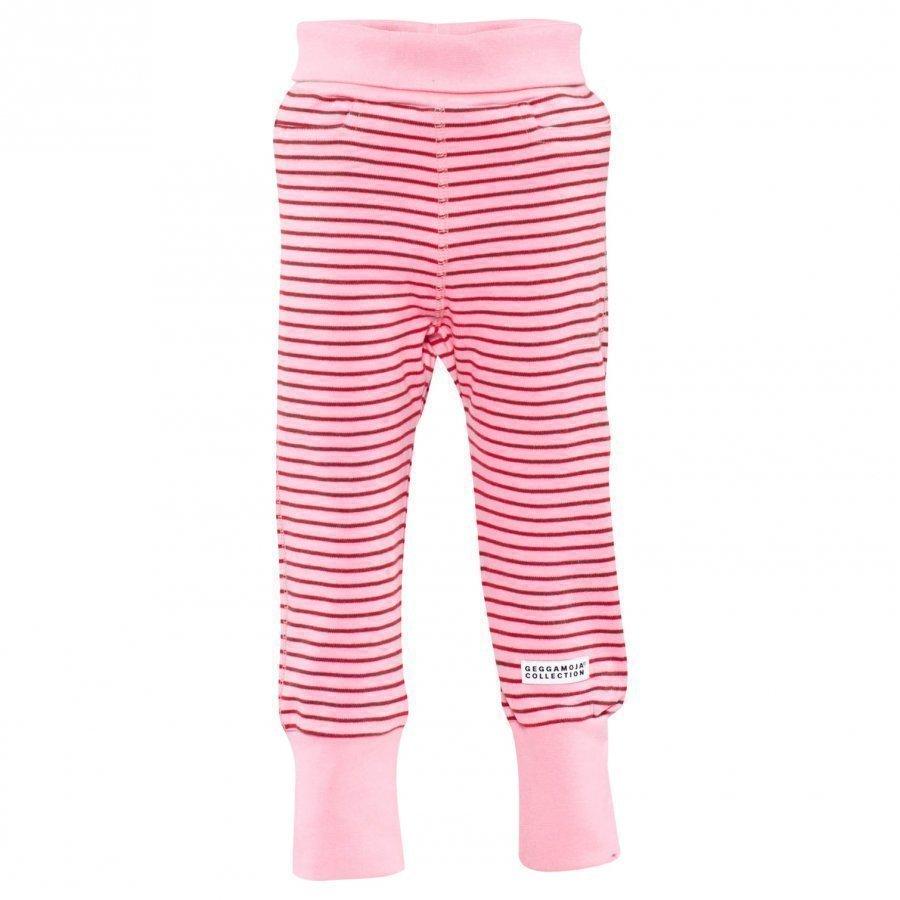 Geggamoja Baby Trousers Classic Pink/Red Housut