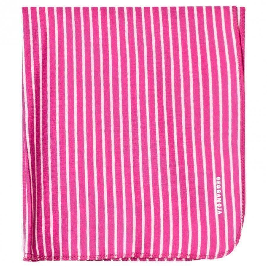 Geggamoja Bamboo Cuddly Blanket Cerise/Mint Huopa