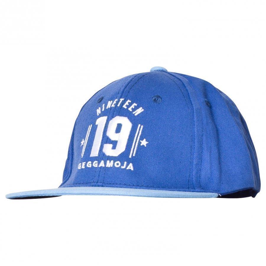 Geggamoja Baseball Cap Blue Lippis