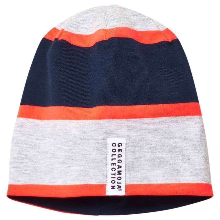 Geggamoja Beanie Neon Orange Pipo