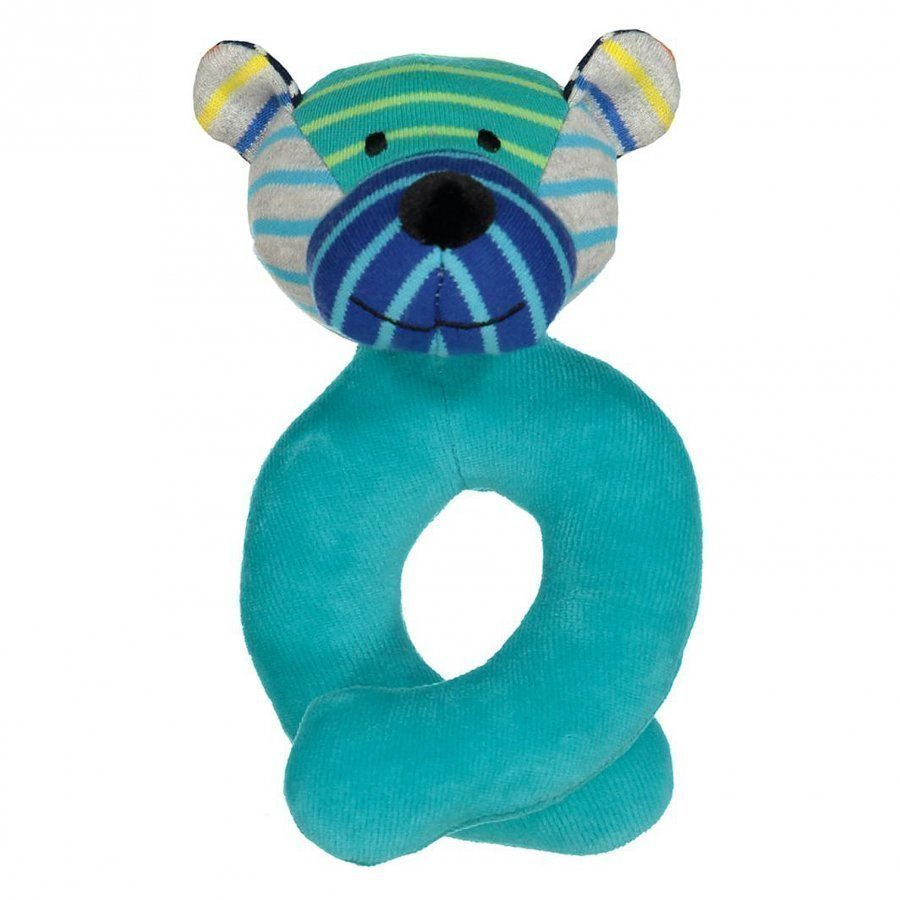 Geggamoja Bear Rattle Mixed Colors Pehmolelu