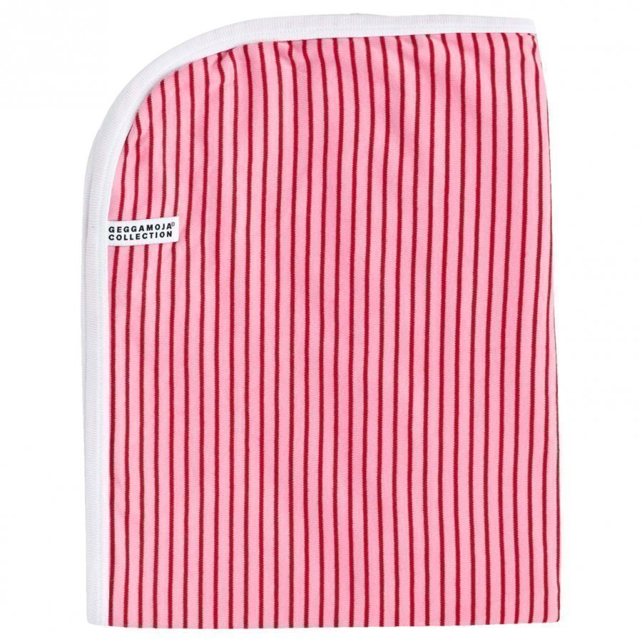 Geggamoja Blanket Classic Pink/Red Huopa