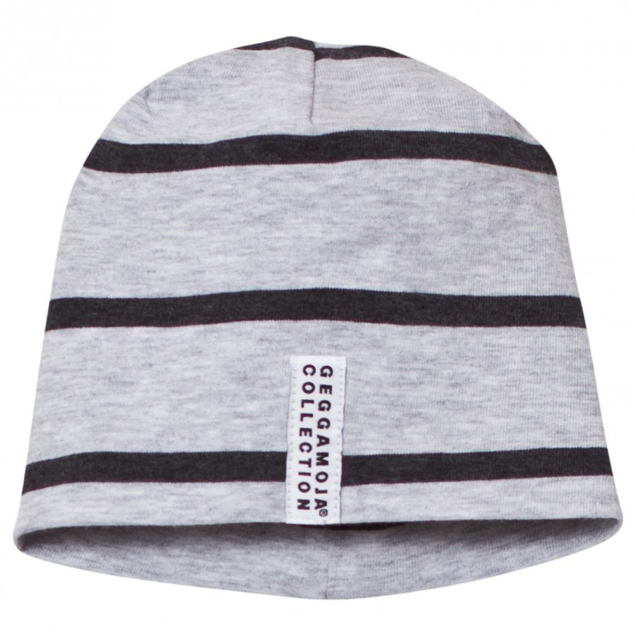 Geggamoja Cap Grey Melange And Dark Grey Pipo