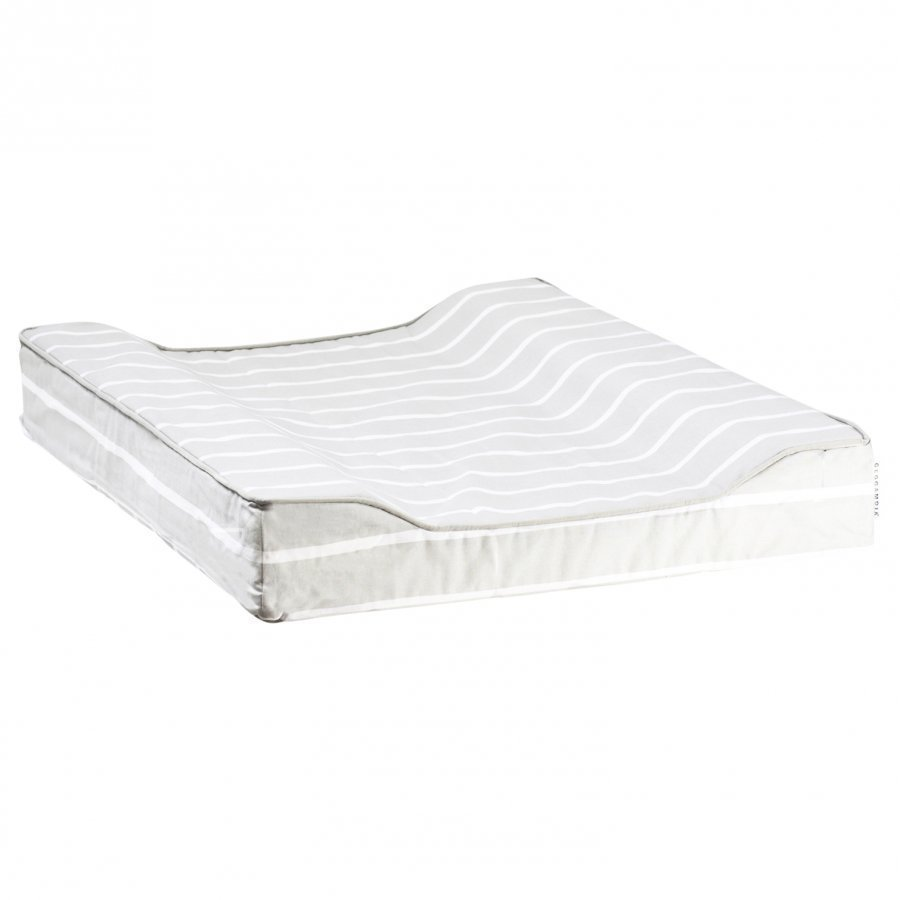 Geggamoja Changing Pad Grey/White Hoitoalusta