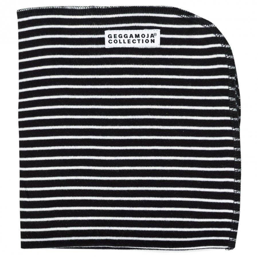 Geggamoja Cuddly Blanket Classic Black/White Huopa