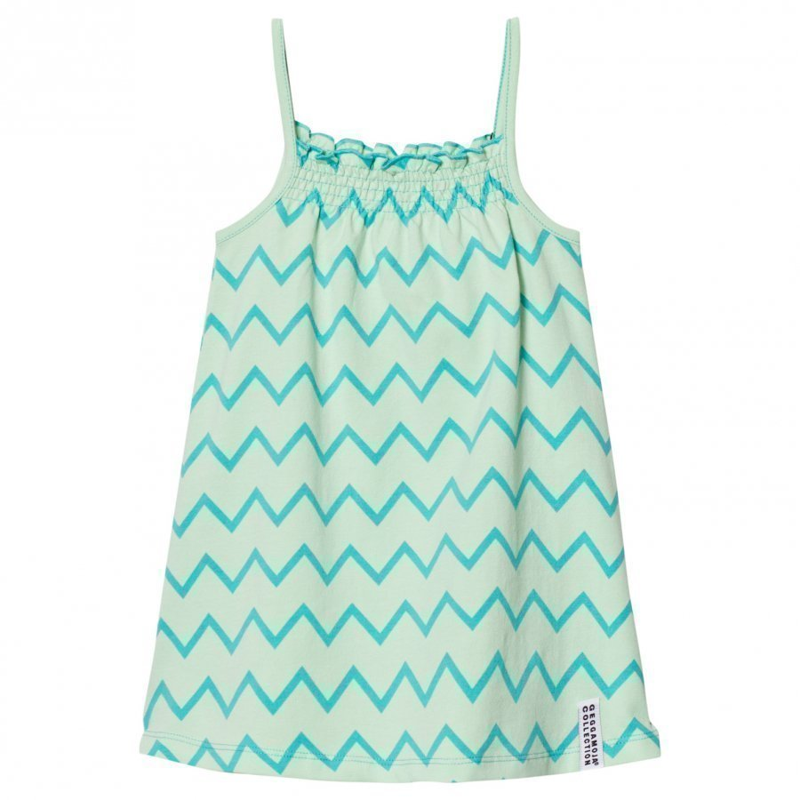 Geggamoja Dress L-Mint/Mint Mekko