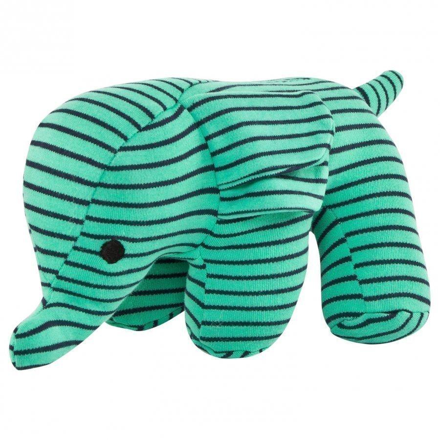 Geggamoja Elephant Green/Marine Pehmolelu