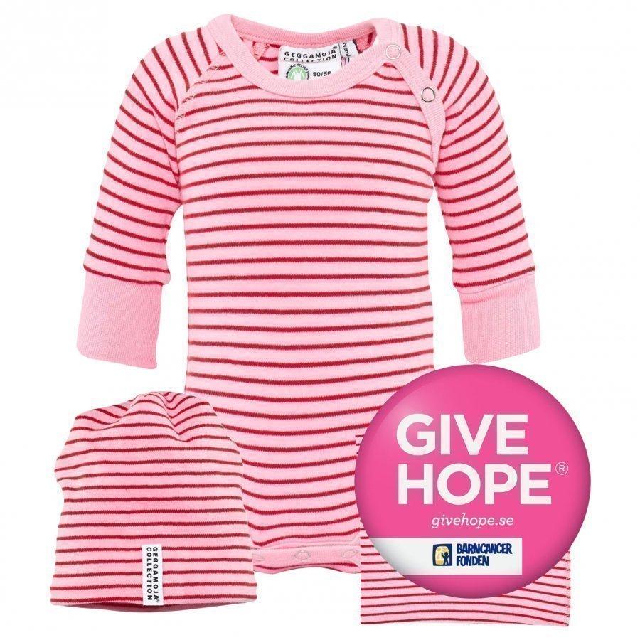 Geggamoja Gift Set Classic Pink/Red Body