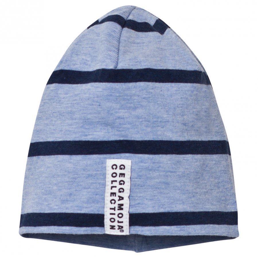Geggamoja Hat Blue Melange And Marine Pipo