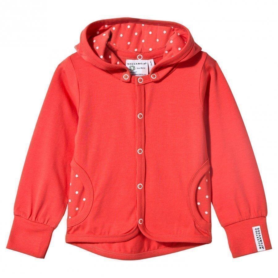 Geggamoja Jacket Coral Dot Huppari