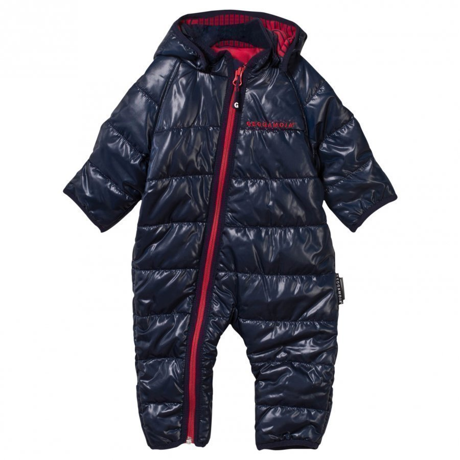 Geggamoja Light Weight Coverall Navy Sadehaalari