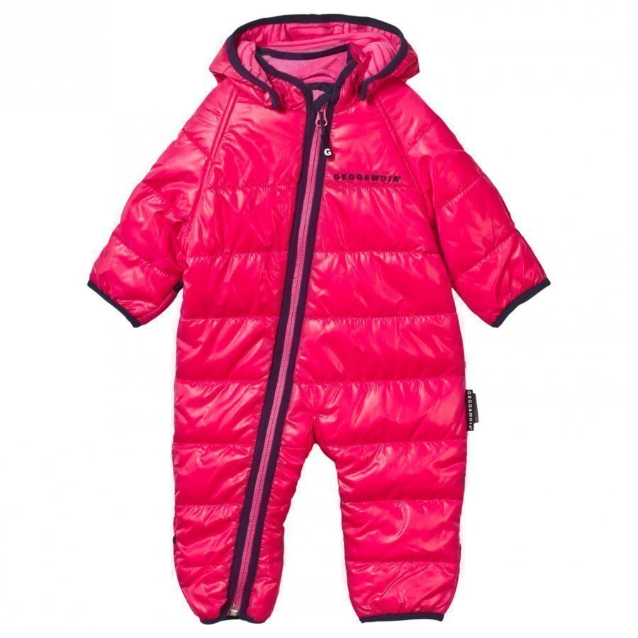 Geggamoja Light Weight Coverall Raspberry Sadehaalari
