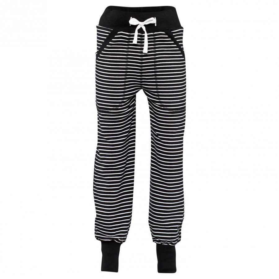Geggamoja Long Pants Classic Black/White Housut