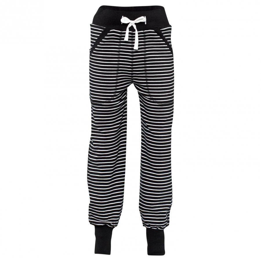 Geggamoja Long Pants Classic Black/White Housut
