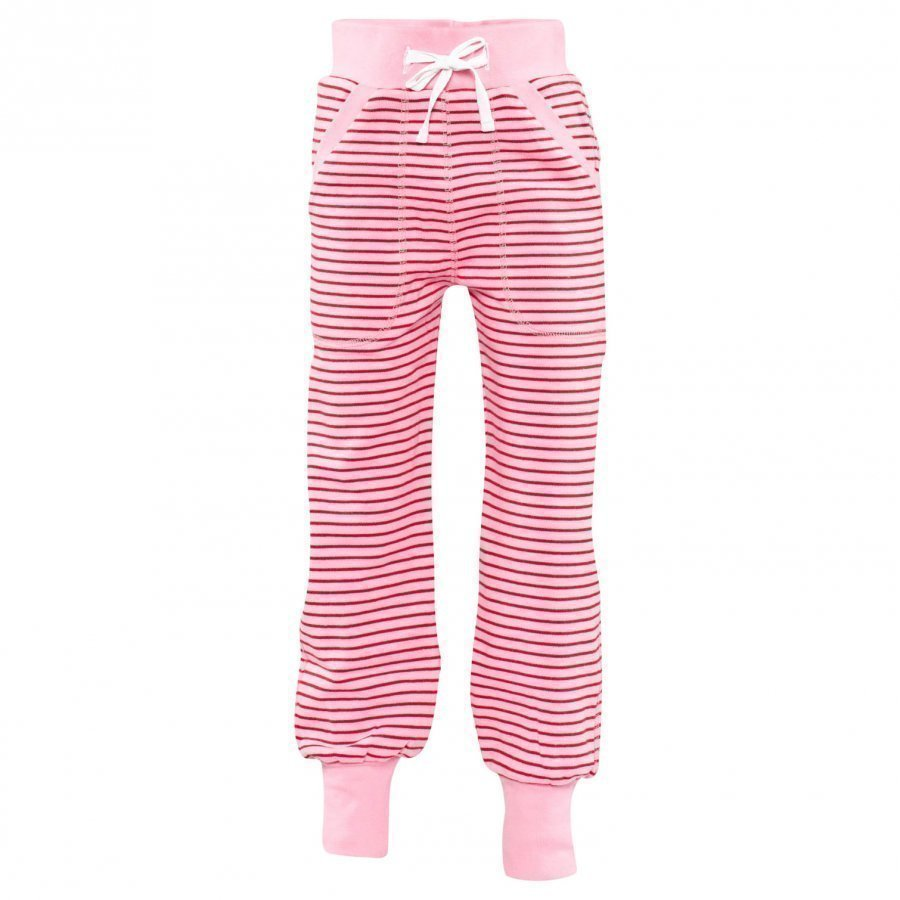 Geggamoja Long Pants Classic Pink/Red Housut