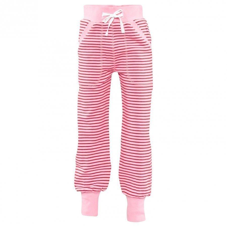 Geggamoja Long Pants Classic Pink/Red Housut