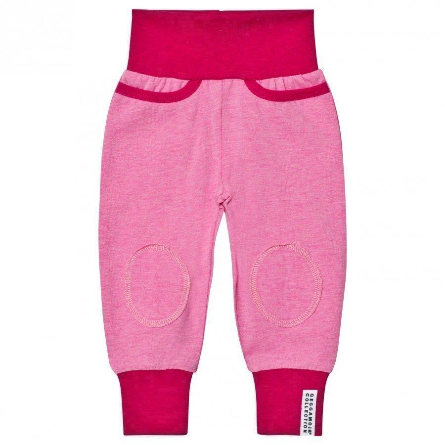 Geggamoja Pants Pink Melange Housut