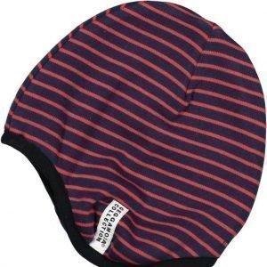 Geggamoja Pipo Helmet Hat Tummansininen/Punainen