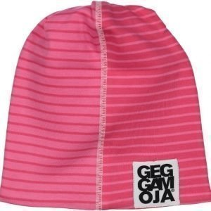 Geggamoja Pipo Two Color Cap Fleece Vadelma/Koralli