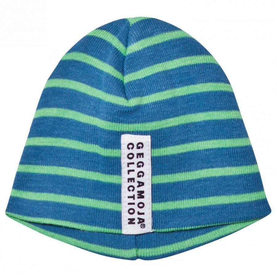 Geggamoja Premature Cap Marine And Green Pipo