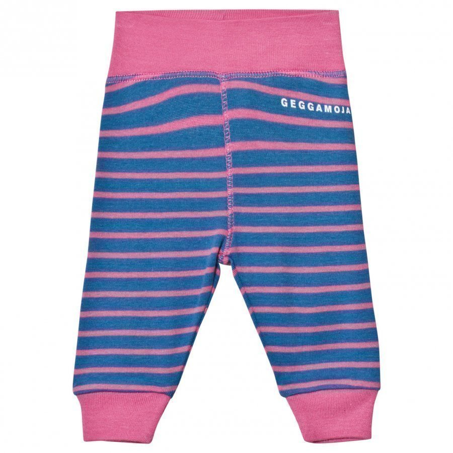 Geggamoja Premature Pant Marine And Pink Housut