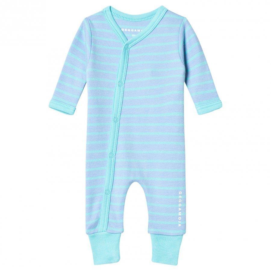 Geggamoja Premature Suit L.Blue/Turquoise Kokopuku