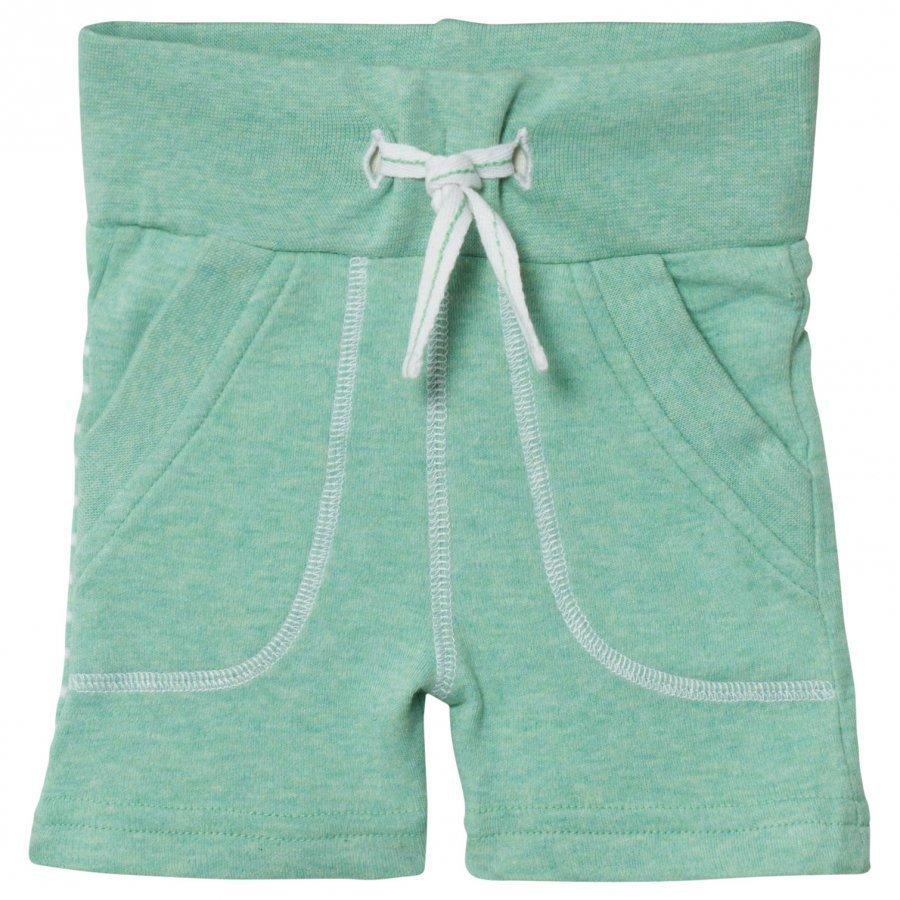 Geggamoja Shorts Green Melange Oloasun Shortsit