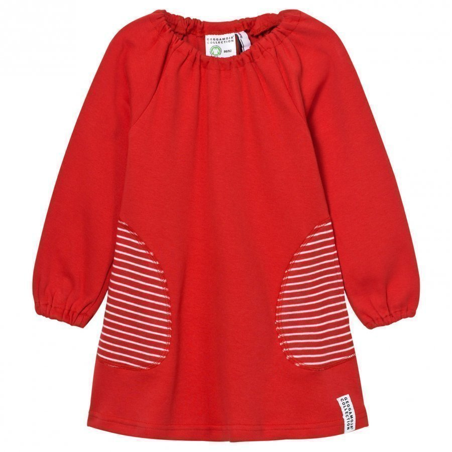 Geggamoja Singoalla Dress Red Mekko