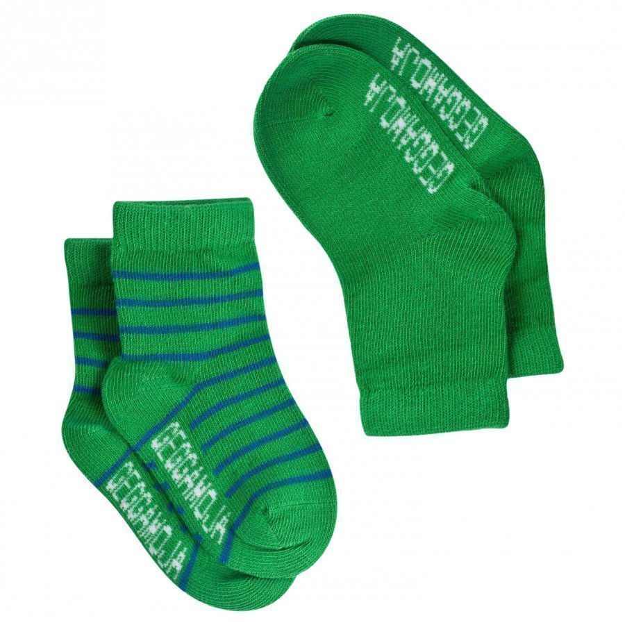 Geggamoja Socks Green/Blue Sukat