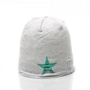 Geggamoja Star Cap Ohut Pipo Harmaa