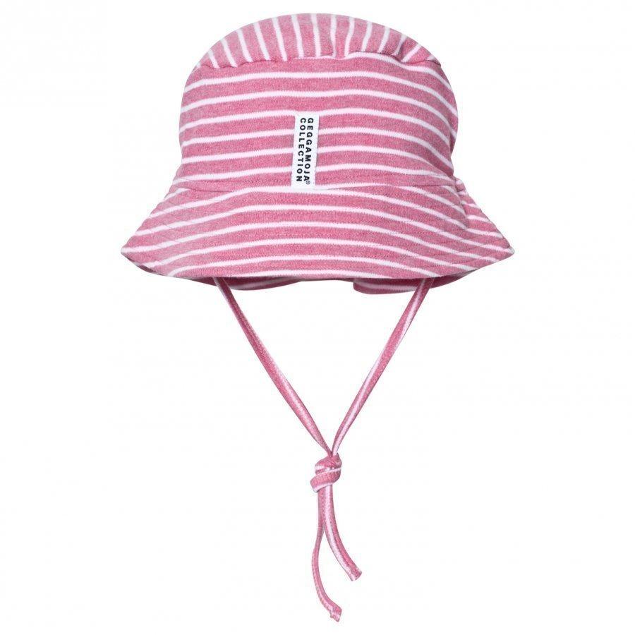 Geggamoja Sunny Hat Pink Melange White Aurinkohattu