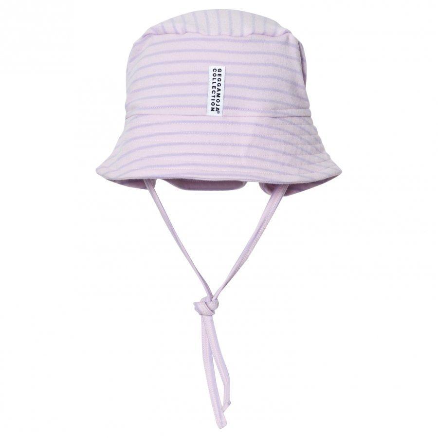 Geggamoja Sunny Hat Soft Pink Lilac Aurinkohattu
