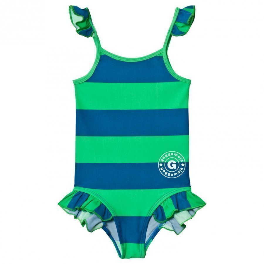 Geggamoja Swim Suit Marin Green Uimapuku