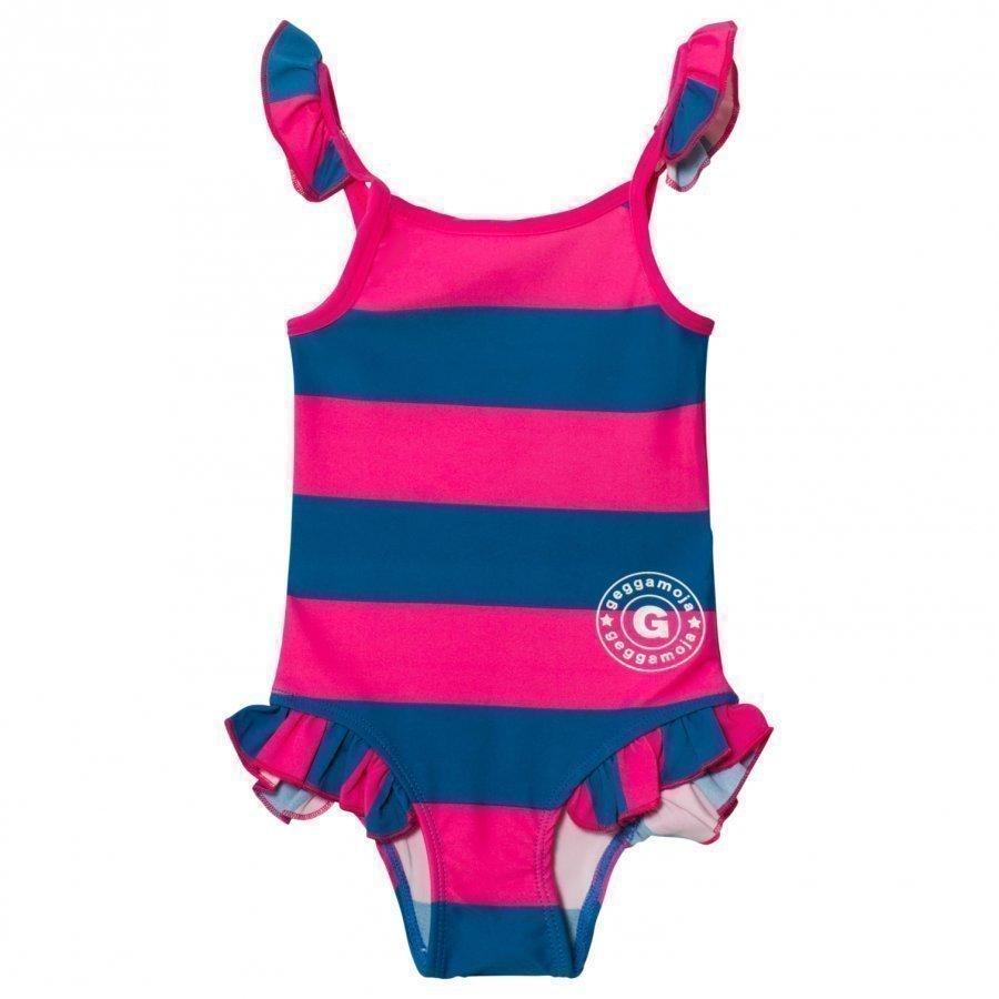 Geggamoja Swim Suit Marin Strong Pink Uimapuku