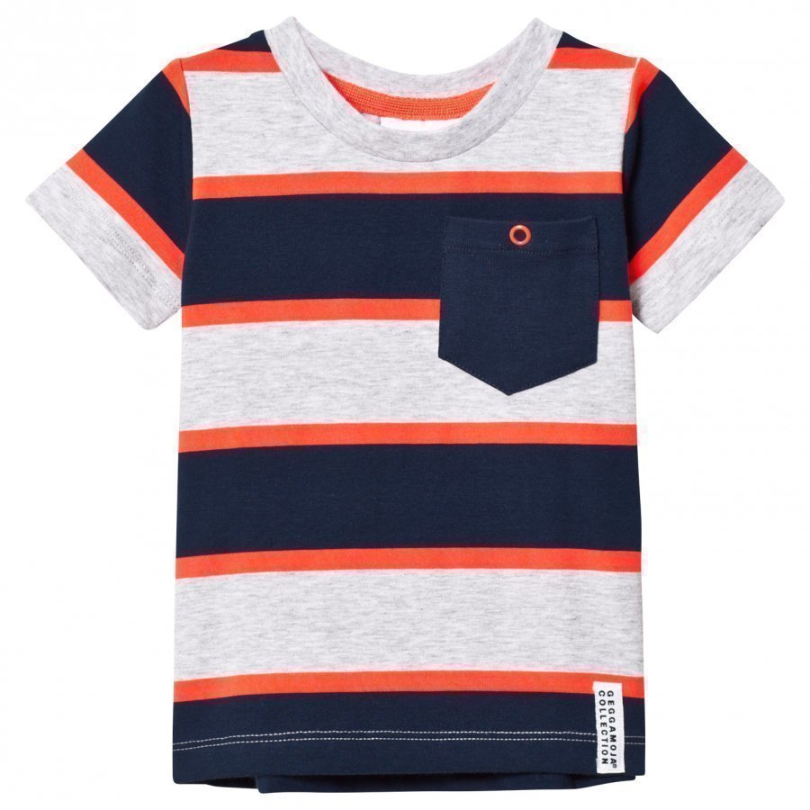 Geggamoja T-Shirt Neon Orange T-Paita