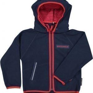 Geggamoja Takki Wind Fleece Jacket Tummansininen