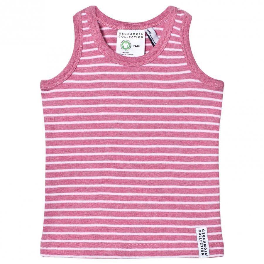 Geggamoja Tanktop Pink Melange White Liivi