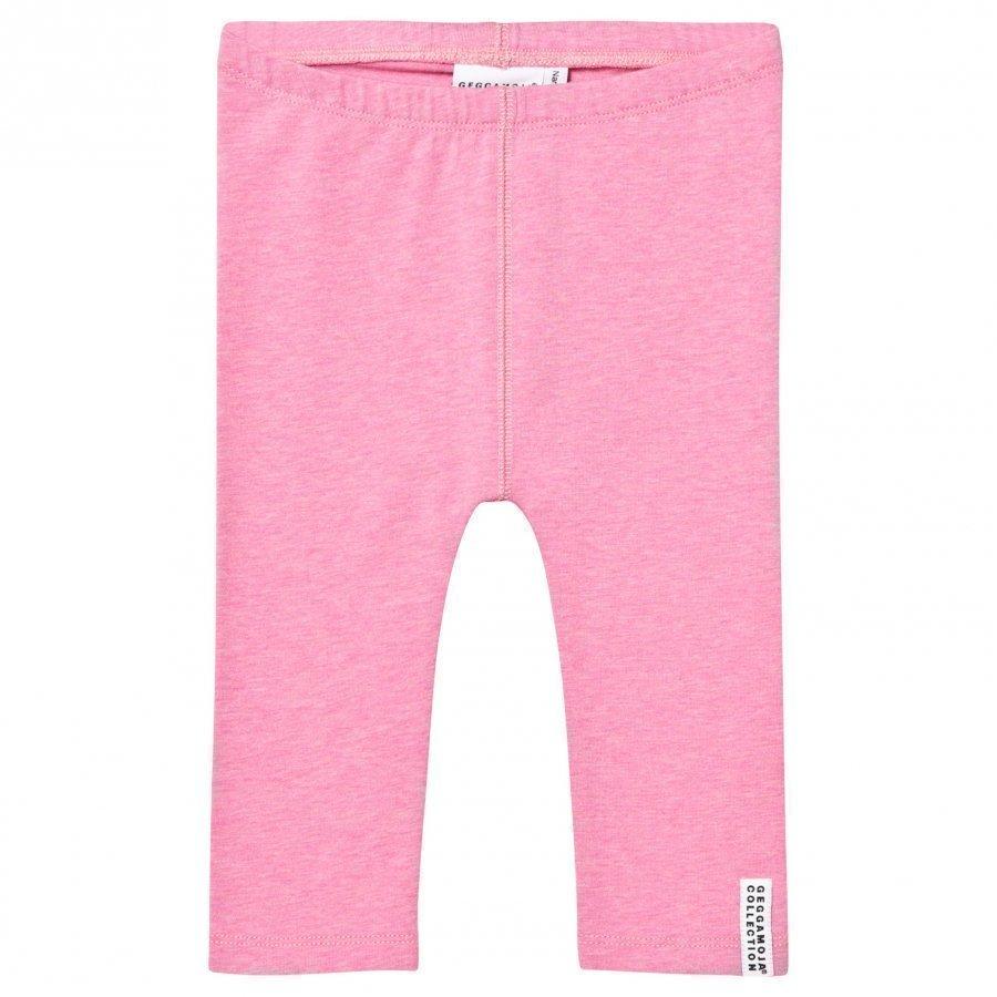 Geggamoja Tights Pink Melange Legginsit