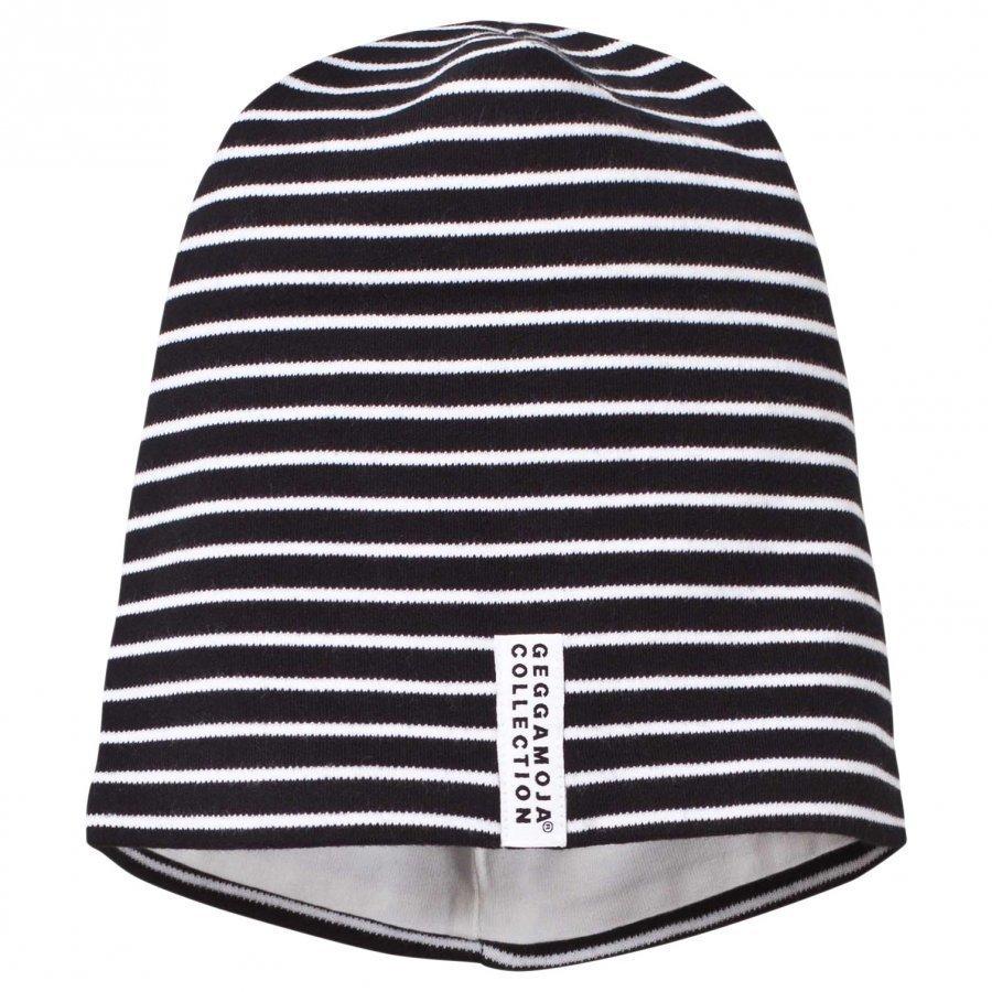 Geggamoja Topline Classic Hat Black/White Pipo