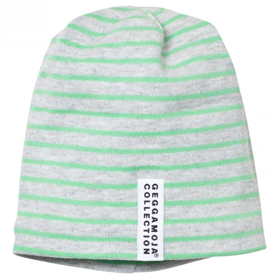 Geggamoja Topline Hat Green Melange/Green Pipo