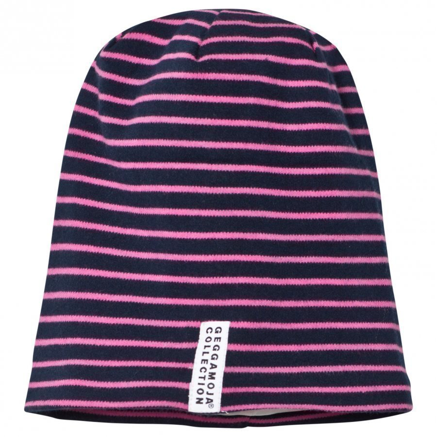 Geggamoja Topline Hat Navy/Pink Pipo